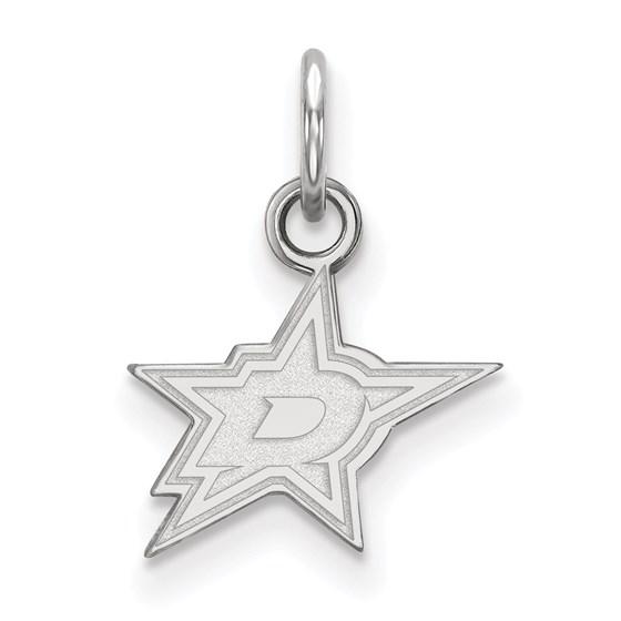Sterling Silver Dallas Stars Pendant