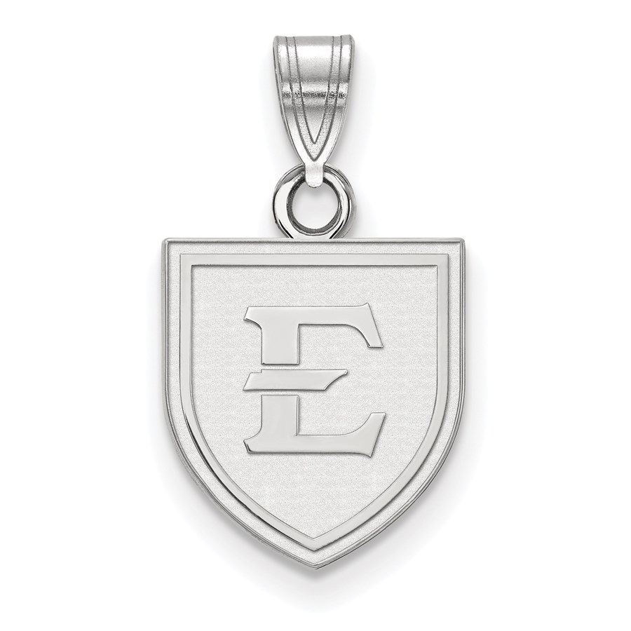 Sterling Silver East Tennessee State Small Pendant