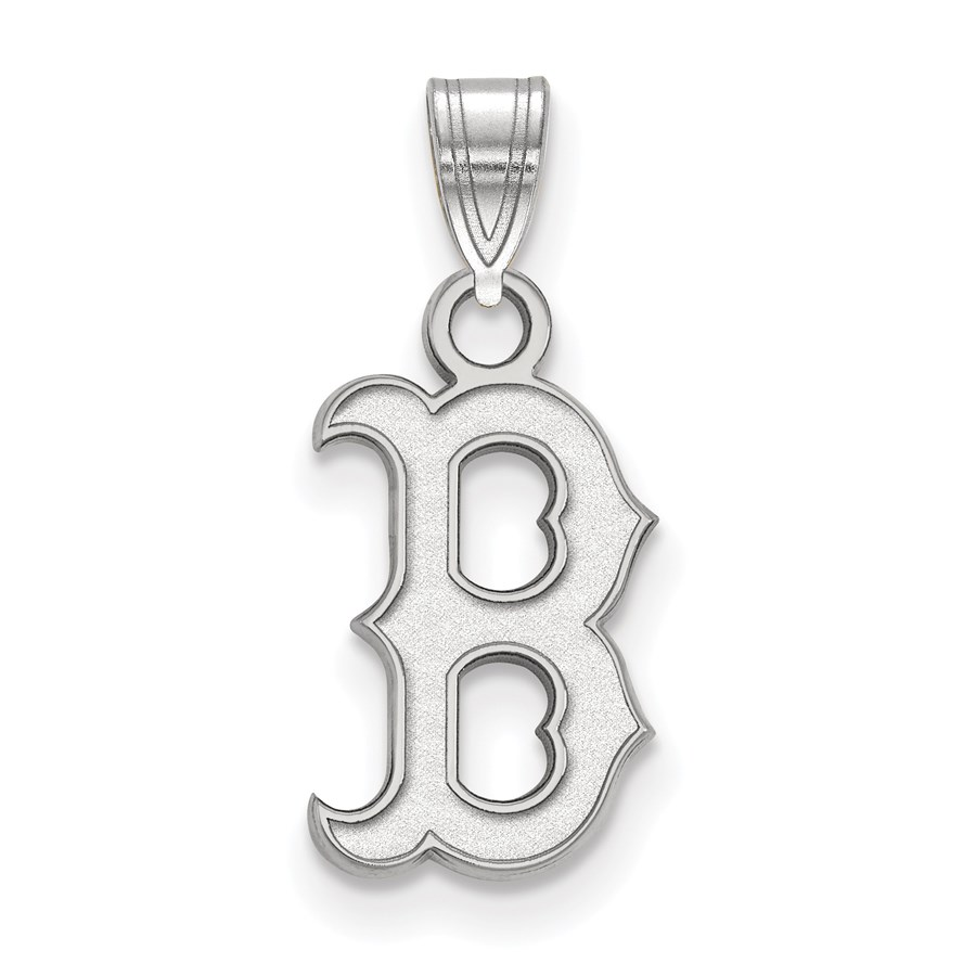 Sterling Silver MLB Boston Red Sox Small Pendant