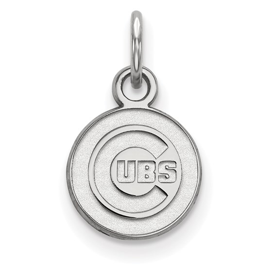 Sterling Silver MLB Chicago Cubs Pendant