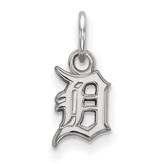 Sterling Silver MLB Detroit Tigers Pendant