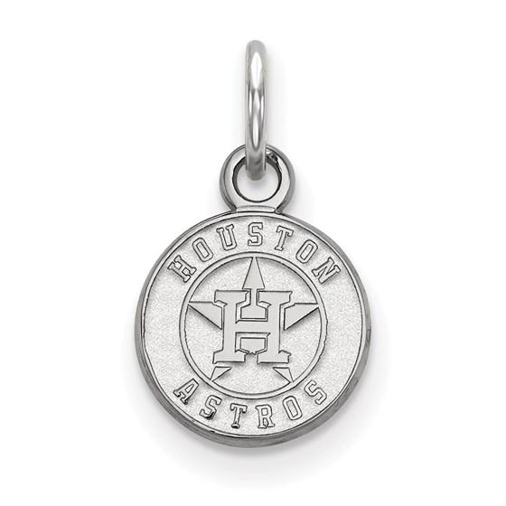 Sterling Silver MLB Houston Astros Pendant