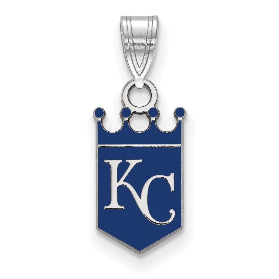Sterling Silver MLB Kansas City Royals Pendant