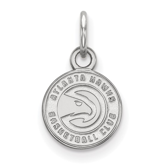 Sterling Silver NBA Atlanta Hawks XS Pendant