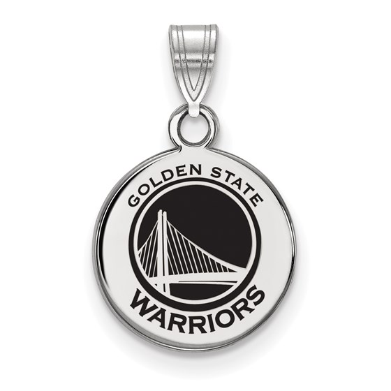 Sterling Silver NBA Golden State Warriors Pendant