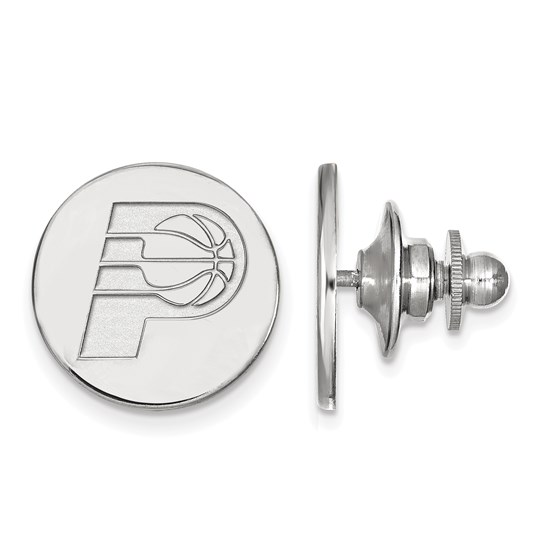 Sterling Silver NBA Indiana Pacers Lapel Pin