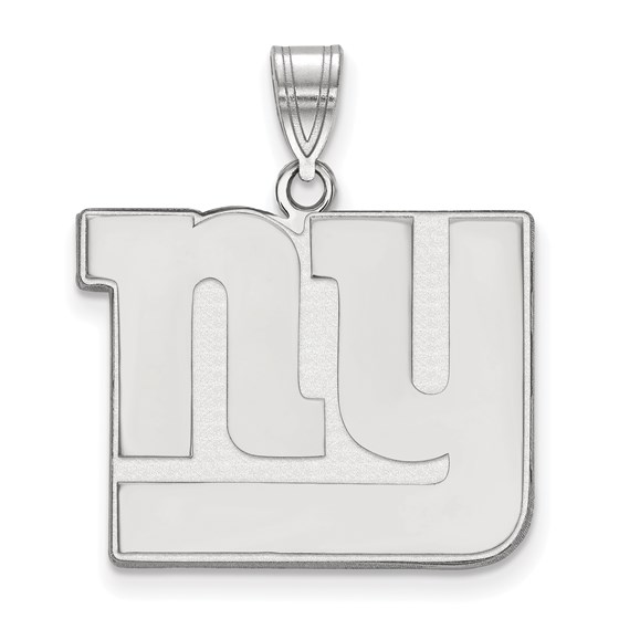 Sterling Silver New York Giants Large Pendant