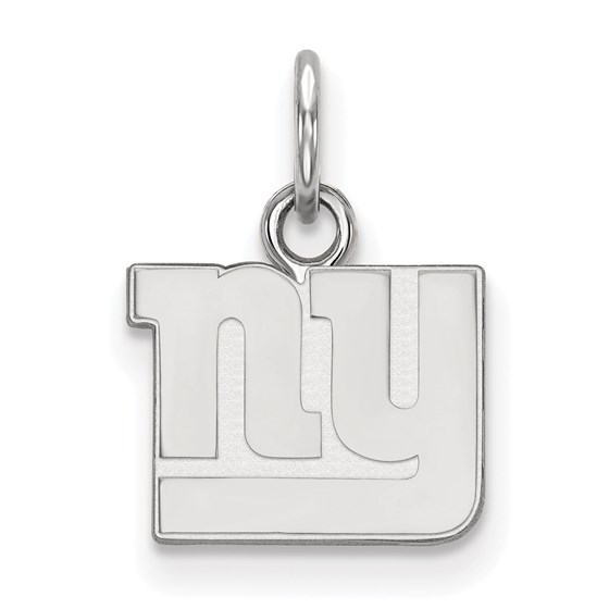 Sterling Silver New York Giants XS Pendant