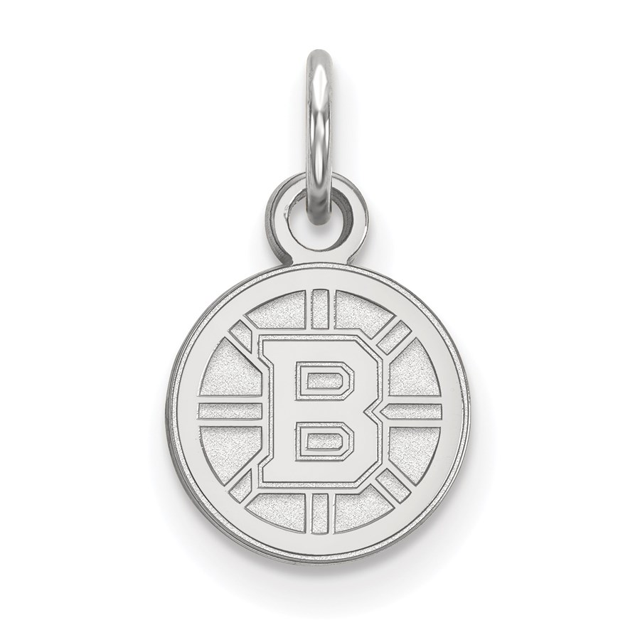 Sterling Silver NHL Boston Bruins Pendant