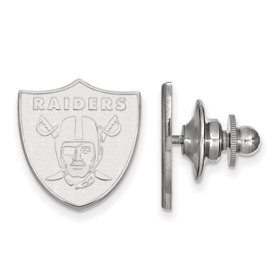 Sterling Silver Oakland Raiders Lapel Pin