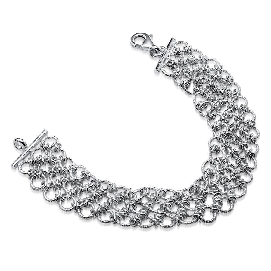 Sterling Silver Polished Bracelet