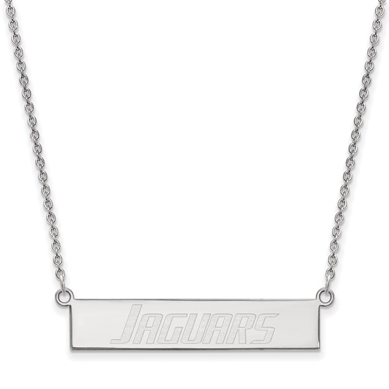 Sterling Silver Univ. of South Alabama Bar Necklace - 18 in.