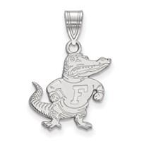 Sterling Silver University of Florida Medium Pendant