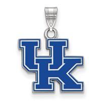 Sterling Silver University of Kentucky Enamel Pendant