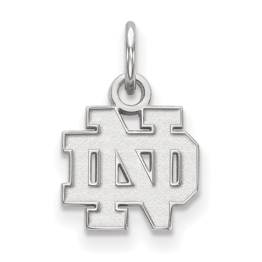 Sterling Silver University of Notre Dame Pendant