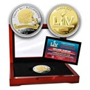 Super Bowl LV Champions Two-Tone Coin: Tampa Bay Buccaneers