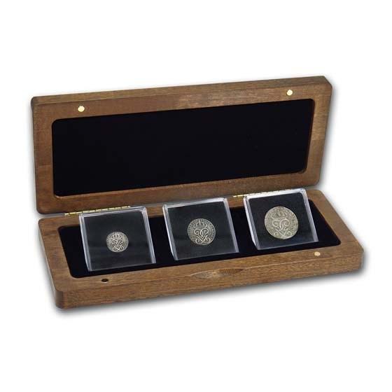 Sweden 3-Coin Set Iron Money (1942-1945) VF-XF