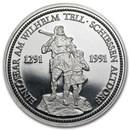 Switzerland 1 oz Platinum Shooting Thaler BU/Proof