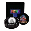 Tetris™ Cathedral 2021 Niue 1 oz Silver Proof $2 Coin
