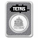 Tetris™ St. Basil's Cathedral 2021 Niue 1 oz Silver $2 BU in TEP