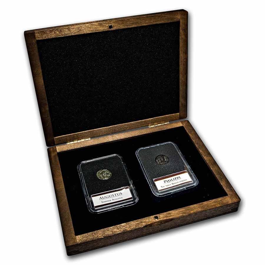 The Battle of Philippi: 2-Coin Presentation Set