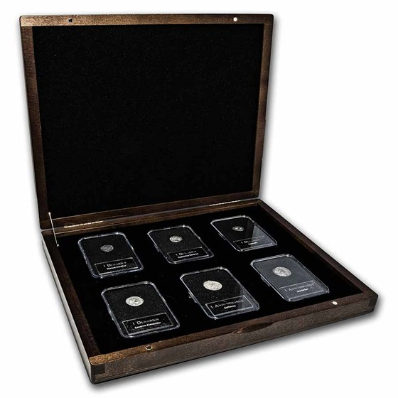 The Builders of Rome: Silver 6-Coin Presentation Set