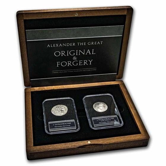 The Celtic Silver Coinage: 2-Coin Imitative Presentation Set
