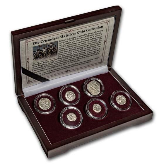 The Crusades: Silver 6-Coin Collection