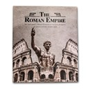 The Decline of the Roman Empire 12 Coin Collection with Map