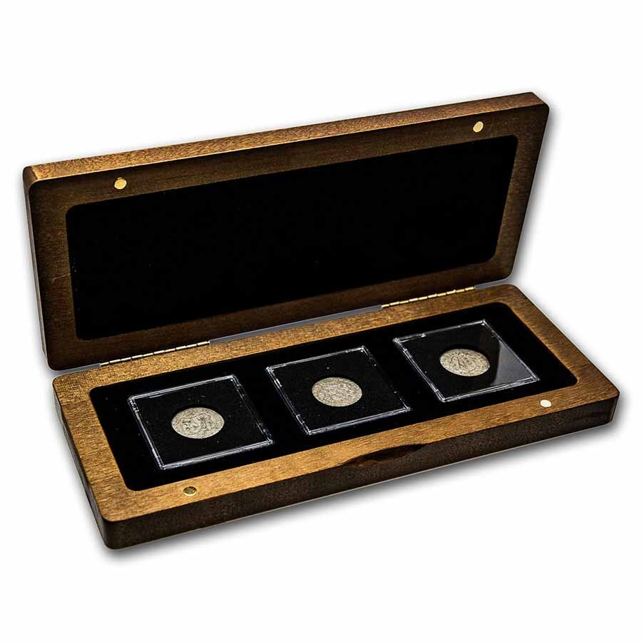 The Electorate of Saxony: 3 Coin Presentation Set