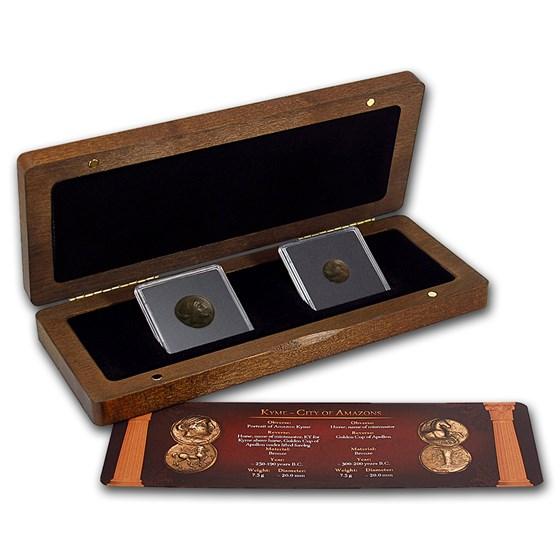 The Money of the Amazon City 2 Coin Presentation Set