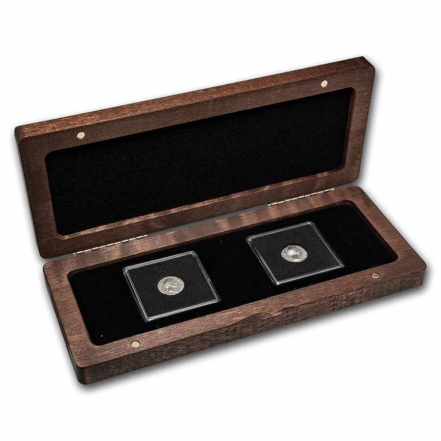 The Roman Gods of Luck: Silver 3-Coin Presentation Set