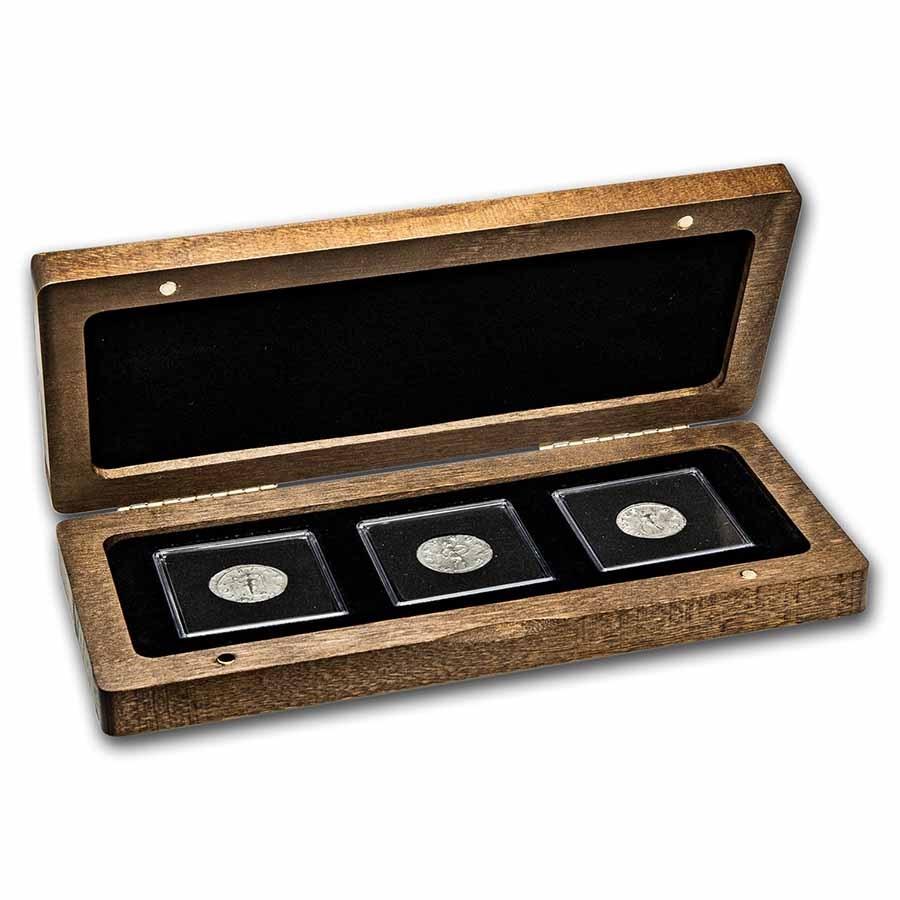 The Roman Gods of War: Silver 3-Coin Presentation Set