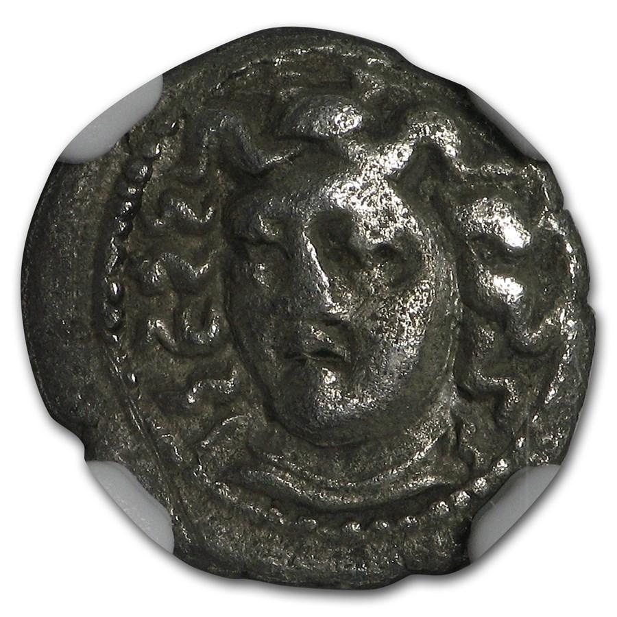Thessaly Silver AR Obol Larissa (4th Century BC) CH VF NGC