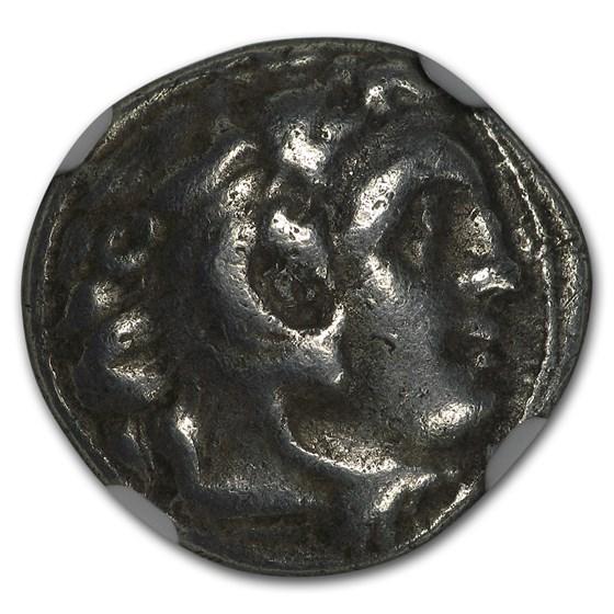 Thrace Mesembria AR Drachm (305-281 BC) Ch Fine NGC