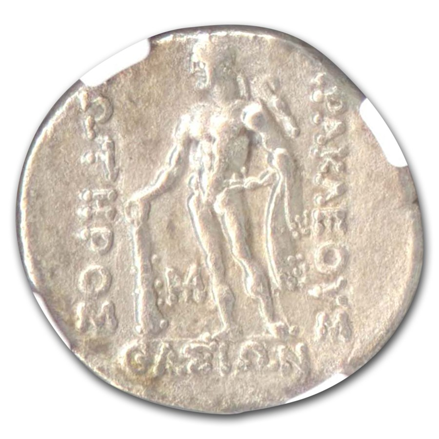 Thrace Thasos AR Tetradrachm Ch-VF NGC (2nd-1st CBC)