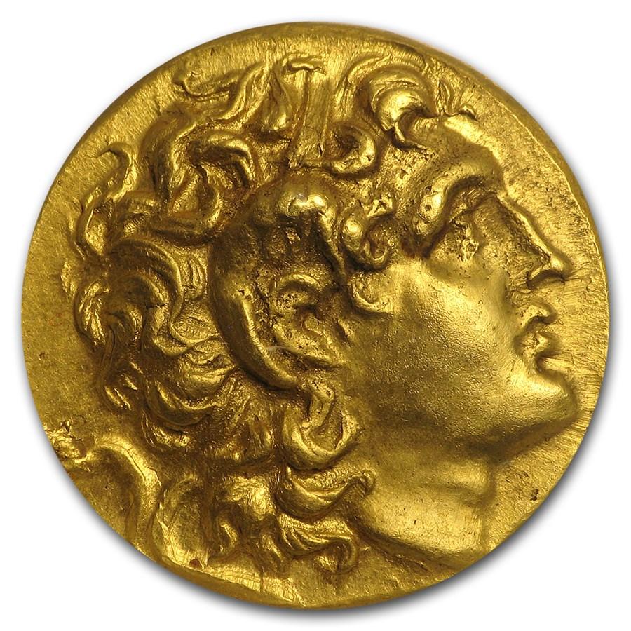 Thracian Kingdom Gold Stater Lysimachos (305-281 BC) XF ANACS