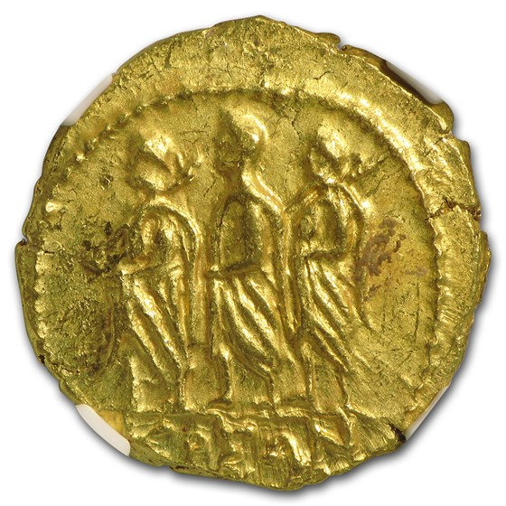 Thracian/Scythian Gold Stater Coson (1st Century BC) MS NGC