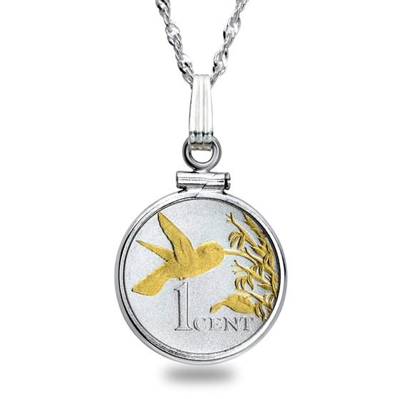 Trinidad Cent Hummingbird Necklace