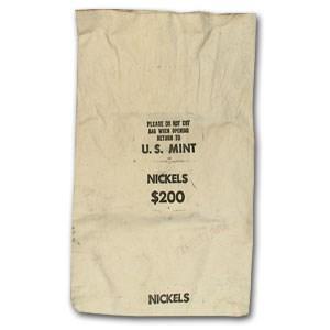 U.S. Mint $200 Nickel Canvas Bag (USED)