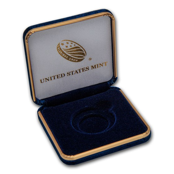 U.S. Mint Box - 1 oz Gold American Eagle (Empty)