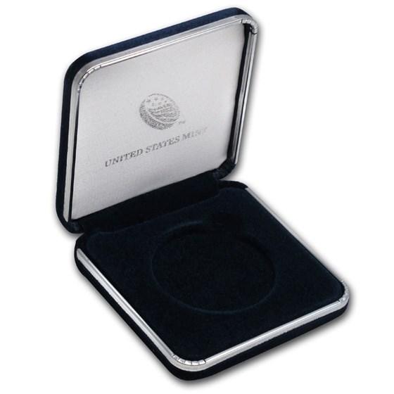 U.S. Mint Box - 1 oz Silver American Eagle (Empty)