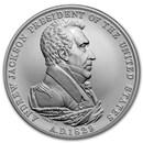 U.S. Mint Silver Andrew Jackson Presidential Medal