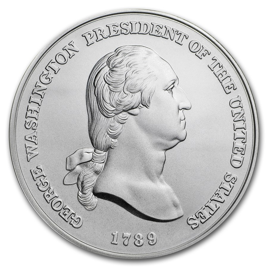 U.S. Mint Silver George Washington Presidential Medal