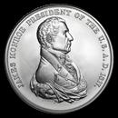 U.S. Mint Silver James Monroe Presidential Medal