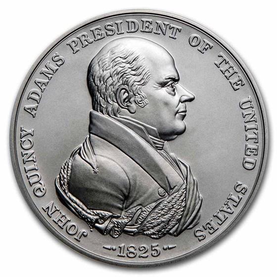U.S. Mint Silver John Quincy Adams Presidential Medal