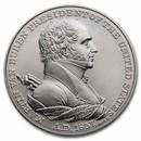 U.S. Mint Silver Martin Van Buren Presidential Medal