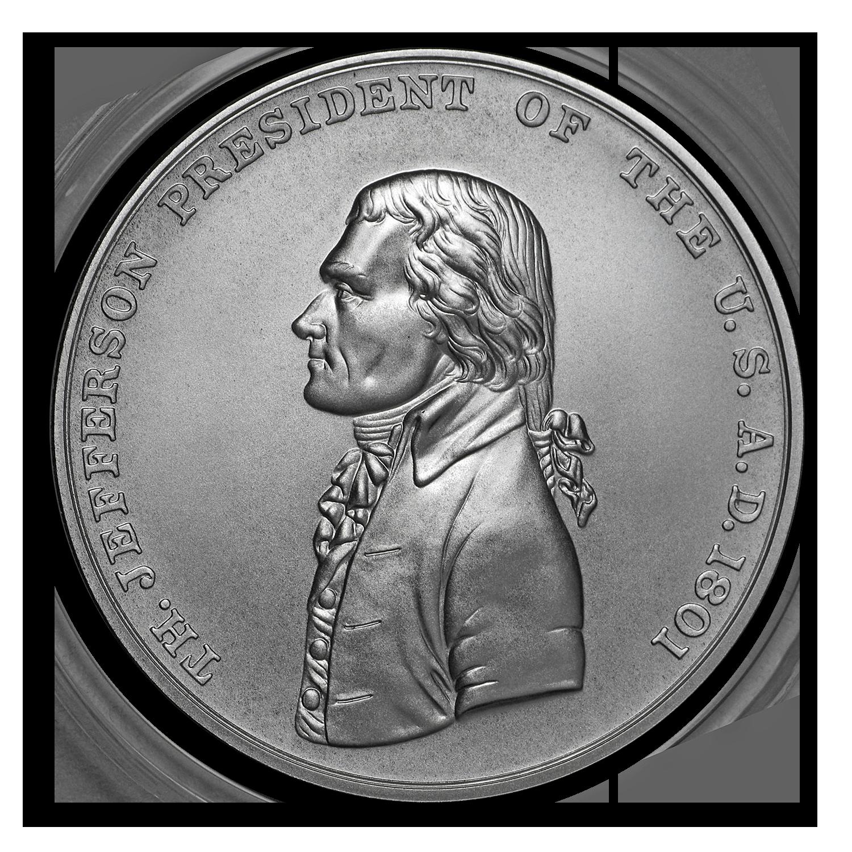 Thomas Jefferson Presidential Silver Medal