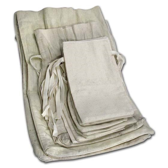 Used Cloth Money Bags (25 Count Bundle)