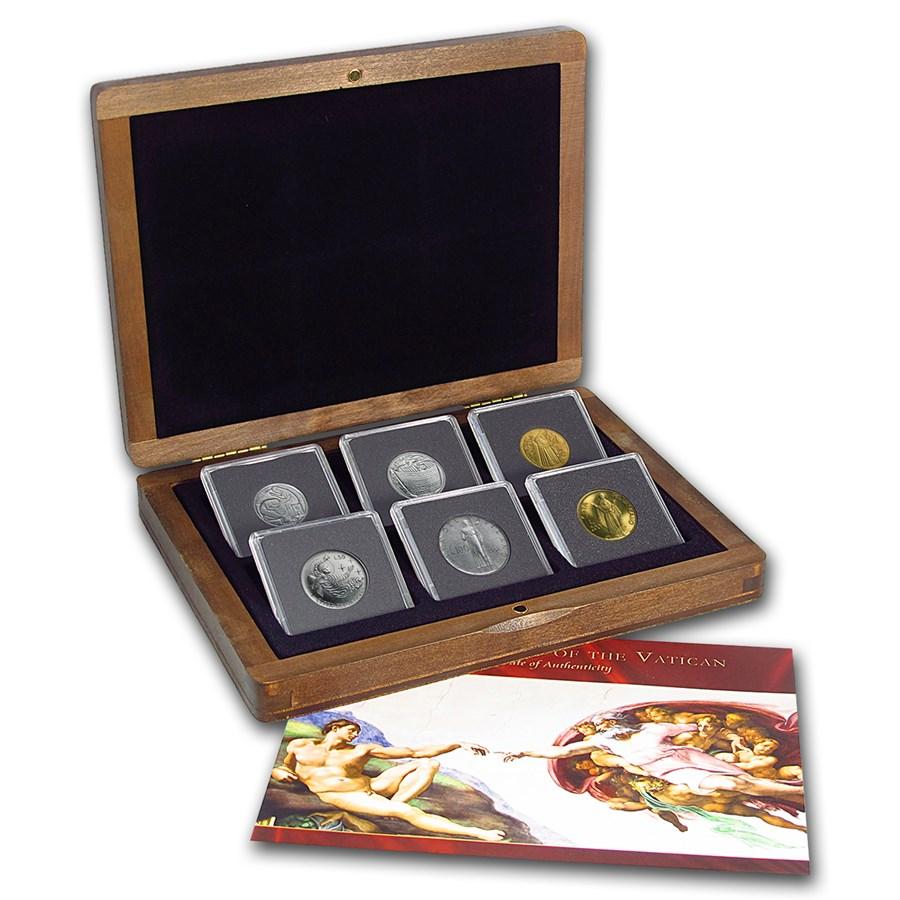 Vatican City Bible Collection 6-Coin Set BU